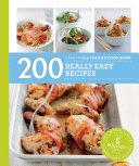 Hamlyn All Colour Cookery  200 Really Easy Recipes