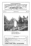 Tennessee Extension Review Agriculture and Home Economics Vol. 1 No. 1