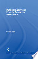 Material Falsity and Error in Descartes' Meditations