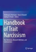 Pdf Handbook of Trait Narcissism Telecharger