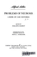 PROBLEMS OF NEUROSIS: A BOOK OF CASE HISTORIES