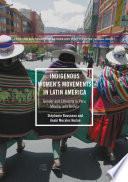 Indigenous Women   s Movements in Latin America
