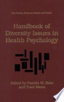Handbook Of Diversity Issues In Health Psychology