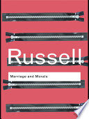 """""""Marriage and Morals"""" by Bertrand Russell"""
