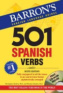 Five Hundred and One Spanish Verbs Book
