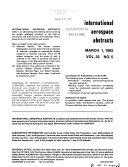 International Aerospace Abstracts Book PDF