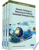 Research Anthology on Measuring and Achieving Sustainable Development Goals Book