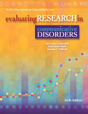 Evaluating Research in Communicative Disorders Book PDF