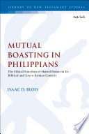 Mutual Boasting in Philippians