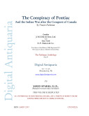 The Conspiracy of Pontiac