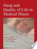 """Sleep and Quality of Life in Clinical Medicine"" by Joris C. Verster, S. R. Pandi-Perumal, David L. Streiner"