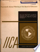 Report Fourteenth Annual Meeting Of The Board Of Directors