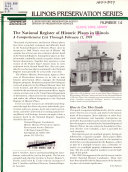 The National Register of Historic Places in Illinois