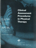 Clinical Assessment Procedures in Physical Therapy