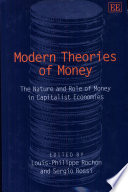 Modern Theories of Money