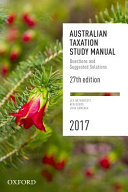 Cover of Australian Taxation Study Manual 2017
