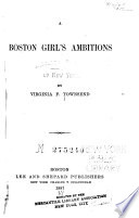 A Boston Girl s Ambitions Book