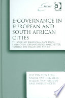 E Governance In European And South African Cities