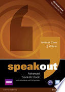 Speakout Advanced Students' Book for DVD/Active Book and Mylab Pack