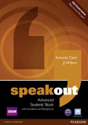 Speakout Advanced Students  Book for DVD Active Book and Mylab Pack