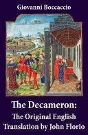 The Decameron  The Original English Translation by John Florio
