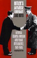 Hitler's Japanese Confidant