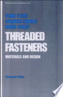 What Every Engineer Should Know About Threaded Fasteners Book PDF