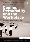 Coping  Personality and the Workplace
