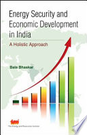 Energy Security and Economic Development in India