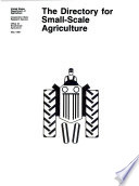 The Directory for small-scale agriculture