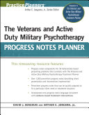 The Veterans and Active Duty Military Psychotherapy Progress Notes Planner [Pdf/ePub] eBook