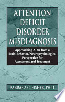 Attention Deficit Disorder Misdiagnosis Book