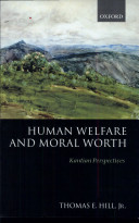 Human Welfare and Moral Worth