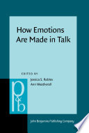How Emotions Are Made In Talk