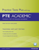 Cover of PTE Academic