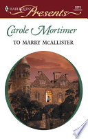 To Marry McAllister Book PDF