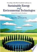 Sustainable Energy and Environmental Technologies Book