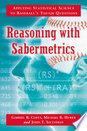 Reasoning With Sabermetrics Book PDF