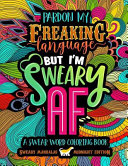 A Swear Word Coloring Book Midnight Edition  Sweary Mandalas Book PDF