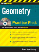CliffsNotes Geometry Practice Pack