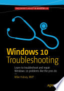 Windows 10 Troubleshooting