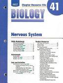 Holt Biology Chapter 41 Resource File  Nervous System