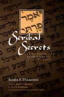 Scribal Secrets Pdf/ePub eBook