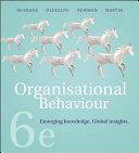 Cover of Organisational Behaviour 6e