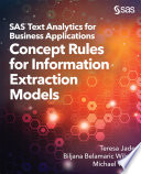 Sas Text Analytics For Business Applications Book PDF