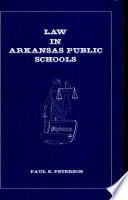 Law in Arkansas Public Schools Book