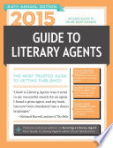 2015 Guide to Literary Agents Book