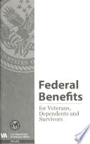 Federal Benefits for Veterans, Dependents and Survivors  : 2016