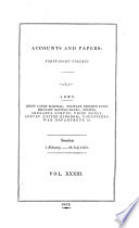 Accounts and Papers of the House of Commons Book
