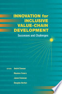 Innovation For Inclusive Value Chain Development
